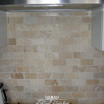 Travertine wall tiles